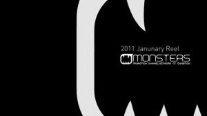 Monsters 2011 Showreel